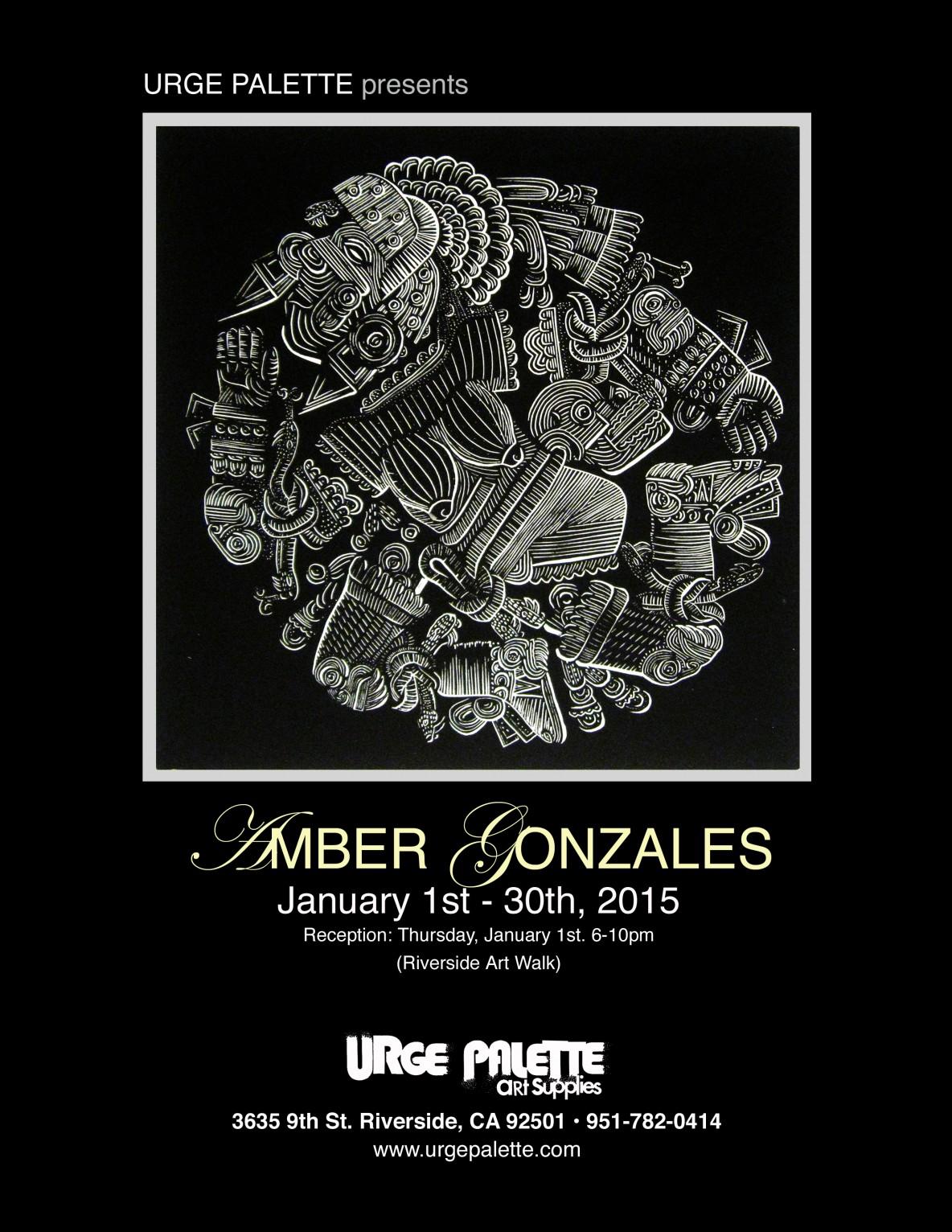 Amber show flier
